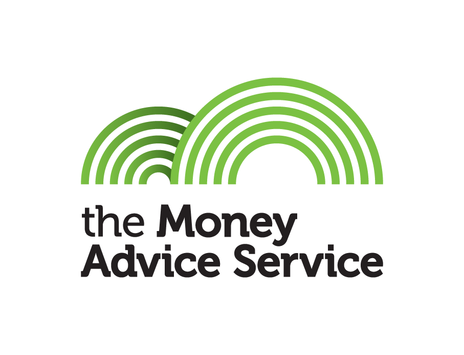 The money advice service logo set up by the government